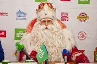 Дед Мороз не только чудеса творит, но и здоровый образ жизни ведёт.