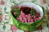 Розовый салат.