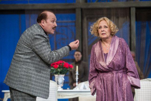 В день юбилея актриса сыграла в спектакле «Филумена Мартурано. Брак по-итальянски».