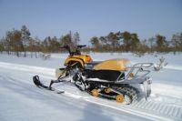Владельцев снегоходов предупредили об опасности и ответственности за выезд на лед