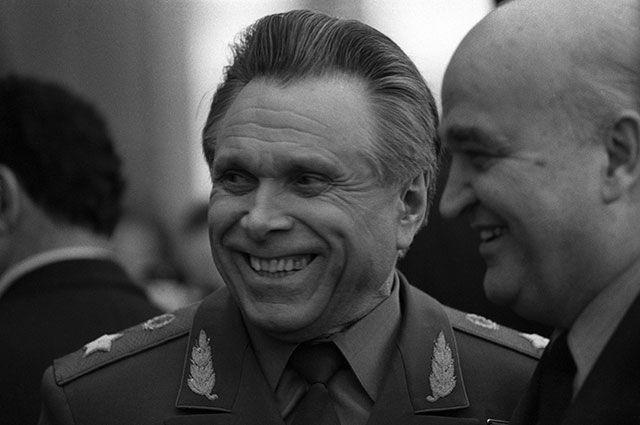 Николай Щёлоков, 1982 год.