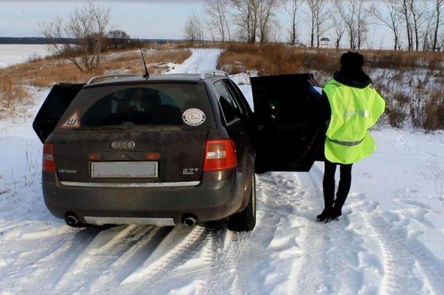 Угонщика задержали через 40 мин. после пропажи автомобиля