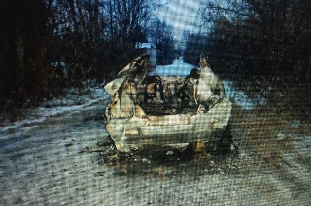 Трое уроженцев Копейска угнали иподожгли вЧелябинске такси