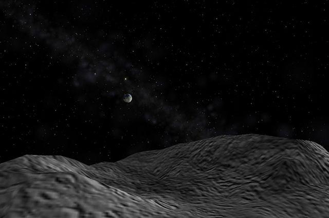 Ученые изучают фотографии опасного астероида Фаэтон