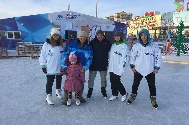 Гараничев приехал в этот район специально покататься на коньках