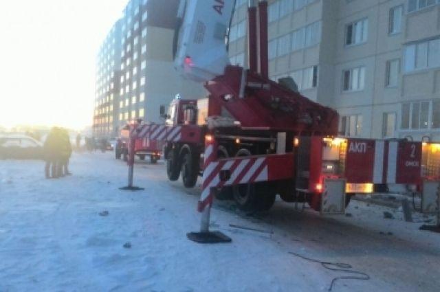 ВОмске МЧС «поставило диагноз» дому, вкотором взорвался газовый баллон