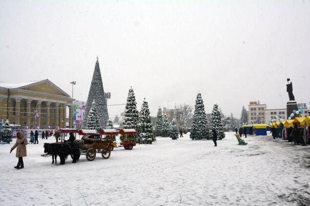 На новый год в ставрополе погода в ставрополе