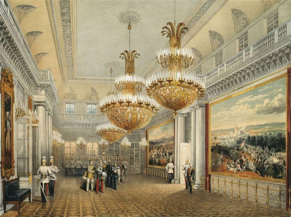 Фельдмаршальский зал в Зимнем дворце