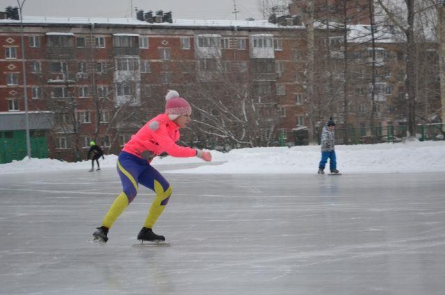 Покататься на коньках можно на трех водоемах