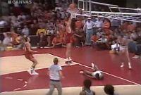 Решающий момент матча матча СССР-США на Олимпиаде-1972.