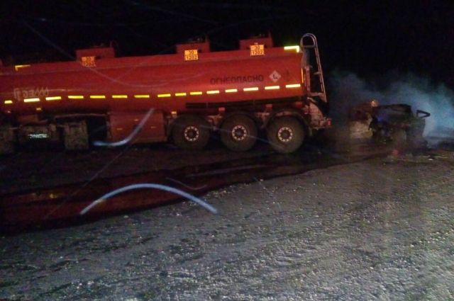 УМВД: подробности ДТП с 4 погибшими на трассе «Оренбург-Орск».