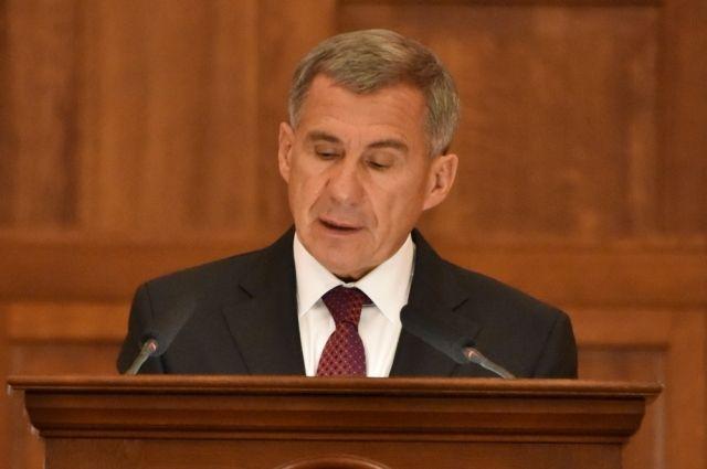 Минниханов отменил должность своего ассистента ваппарате президентаРТ