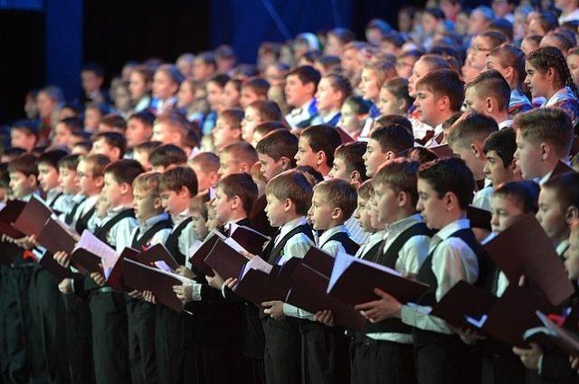 Школьников изСмоленска включили вСводный хор РФ