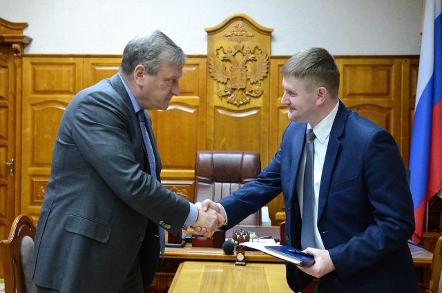 Перескоков стал министром индустриальной политики региона 0+