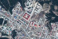 Карта Ханты-Мансийска, район улицы Югорская - Рябиновая
