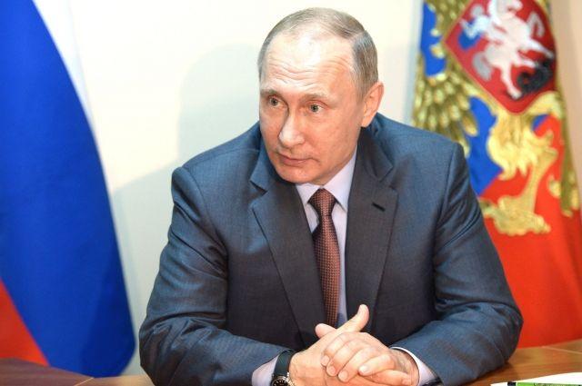 Путин поблагодарил правительство за пять лет работы