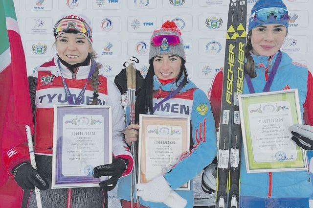 Кирпиченко (в центре) вновь стала лучшей.