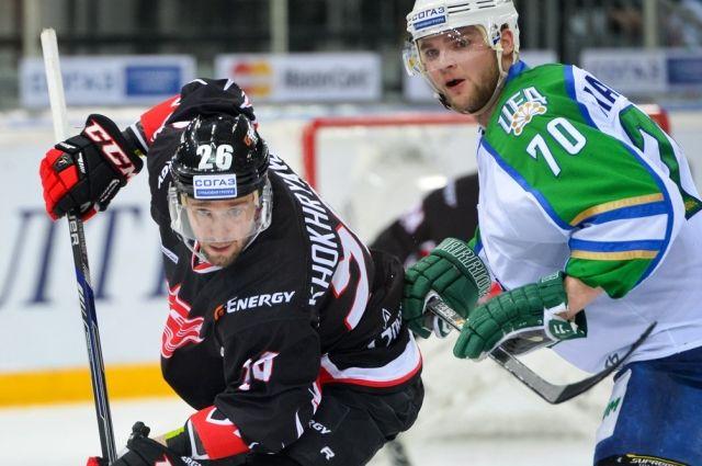 «Салават Юлаев» одержал волевую победу вгостях над «Авангардом»