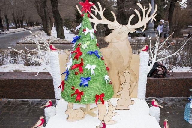ВВолгограде пройдет фестиваль новогодней Арт-елки
