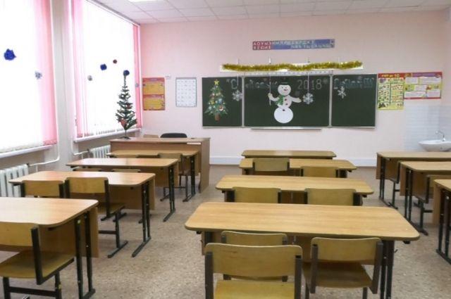 В кемеровской школе впервые за 43 года провели капитальный ремонт.