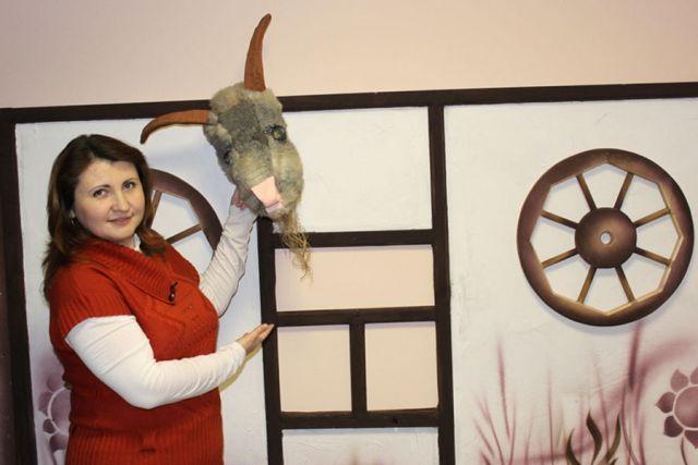 Ольга Поречная: «Коза - главный персонаж зимних гуляний на курщине».