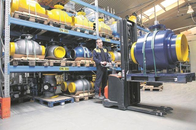 На складе всегда в наличии краны от малого до большого диаметра.