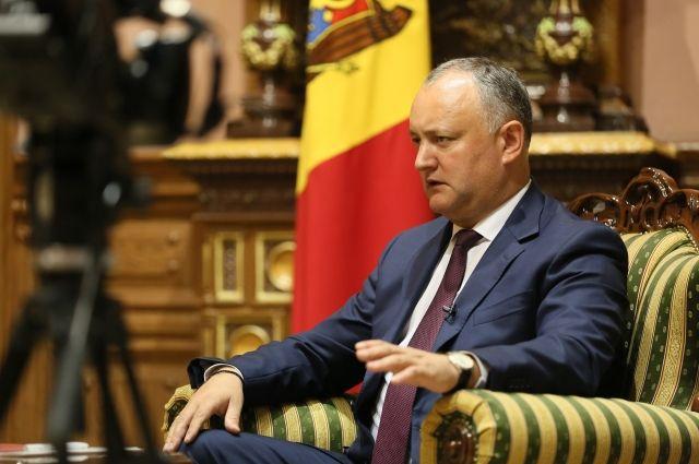Додон попросил главу «Газпрома» предоставить Молдавии скидку на газ