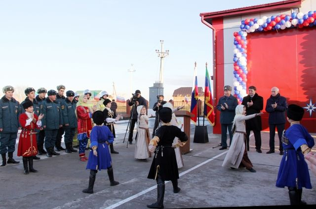 Новая пожарная часть появилась вХасавюртовском районе Дагестана