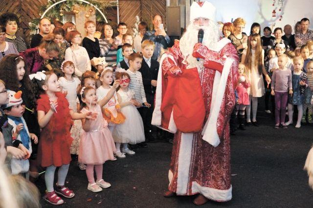 Все участники праздника по сценарию попали в сон Деда Мороза.