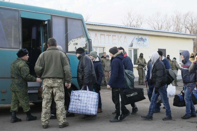 У Горловки завершился обмен пленными – освобождены 74 украинца из списков
