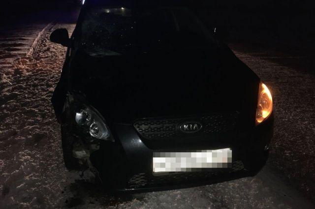 Навечерней трассе вБашкирии иностранная машина задавила 56-летнего мужчину