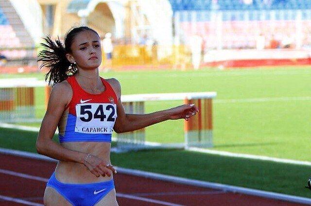 Легкоатлетка Полина Миллер