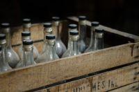Изъято 1300 бутылок палёной водки.