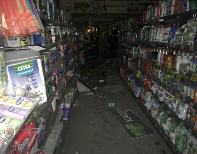 Взрыв прогремел в магазине «Перекресток» в одном из торговых центров