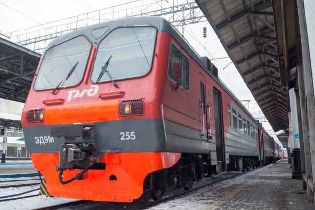 Электричка - один из самых популярных транспортных средств у жителей края.