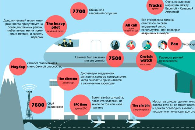 Секретные коды безопасности. Инфографика