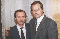 Василий Мачуга (справа) и Владимир Почивалов.