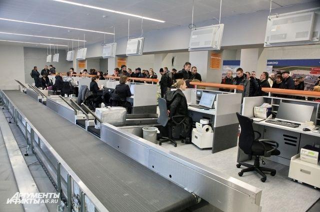 В аэропорту «Храброво» заработала новая зона регистрации пассажиров.