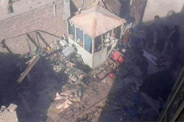 Неменее  40 человек погибли в итоге  взрыва вКабуле