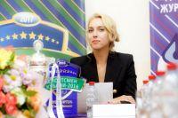 Елена Веснина в Краснодаре на вручении награды «Спортсмен года».