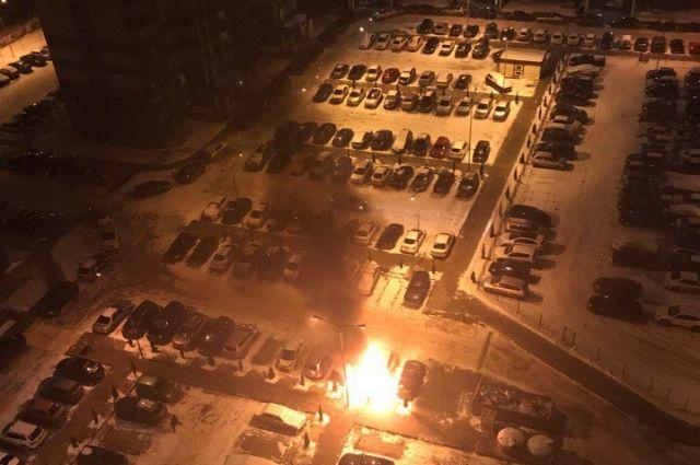 Ночью вСаратове наТархова загорелась аптека