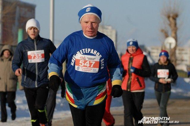 7 января в Омске пройдёт Рождественский полумарафон.