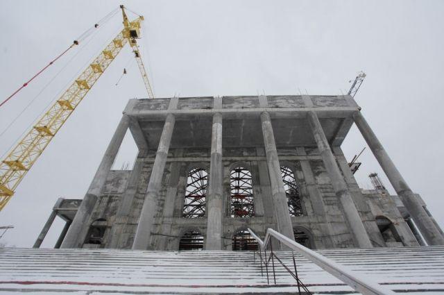 Христорождественский храм «вырос» до19 метров кконцу 2017