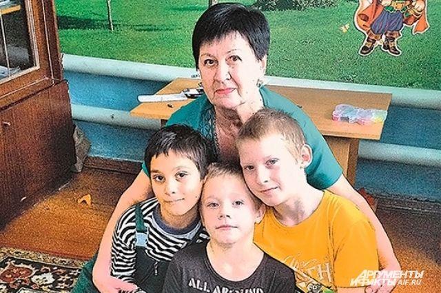 Людмила Ларина: «Любовь мальчишек даёт мне силы».