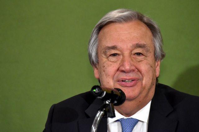 Генеральный секретарь ООН приветствует обмен пленными вгосударстве Украина