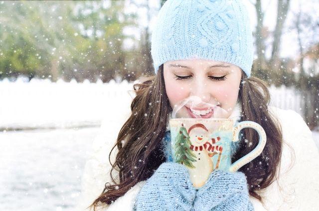 Мороз - не повод оставаться дома.