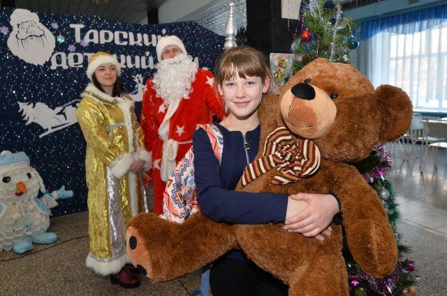 Дети получили самые желанные подарки.