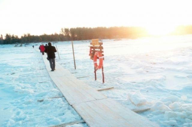 В Кемеровской области работают 28 ледовых переправ.