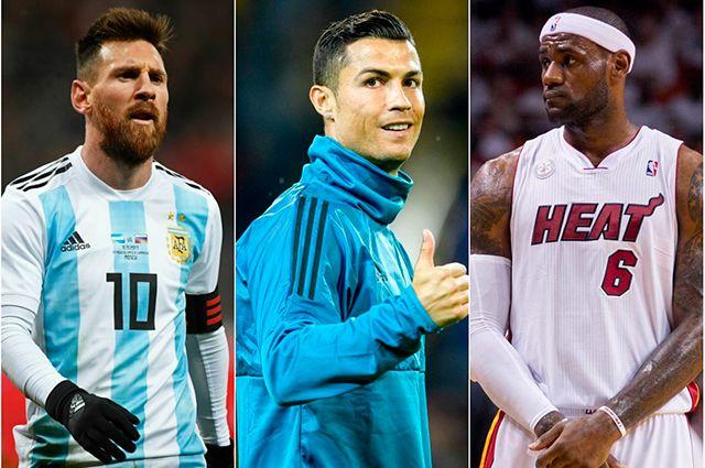 Куда им столько? 10 самых высокооплачиваемых спортсменов мира в 2017 году