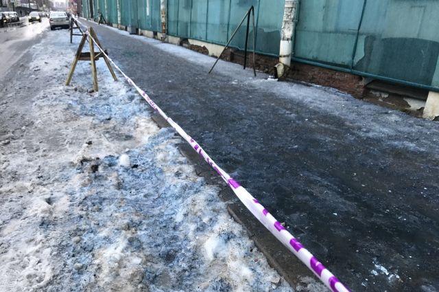 Росприроднадзор озвучил, из-за чего мог появиться синий снег вПетербурге